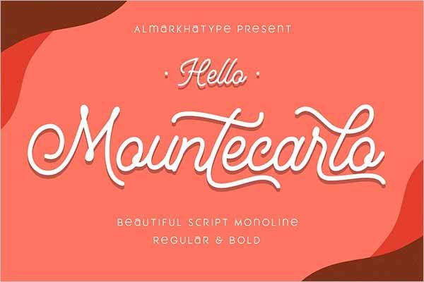 Mountecarlo Beautiful Monoline