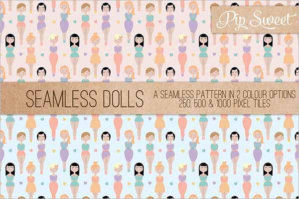 Paper Doll Pattern Design