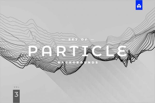 Particle Abstract Backgrounds