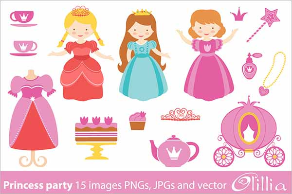 Party Paper Doll Design