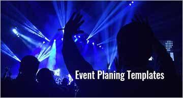 Printable Event Program Templates