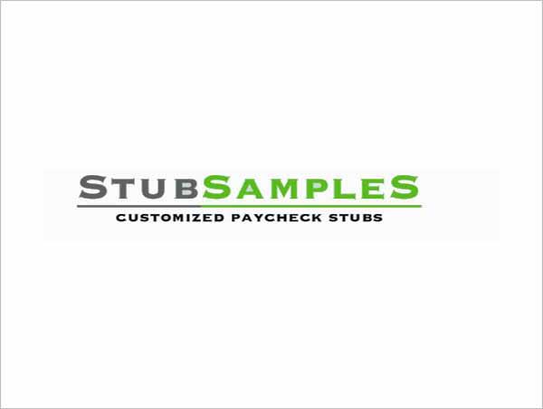 Stub Samples Pay Stub Generator and Payroll Creator