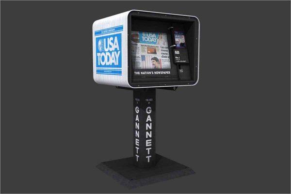 USA Today Newspaper Dispenser