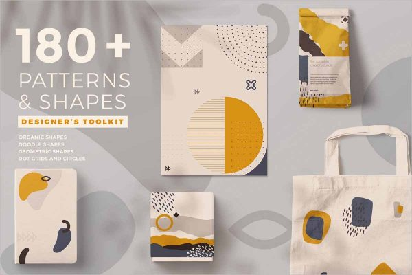 180 Shapes and Patterns Kit