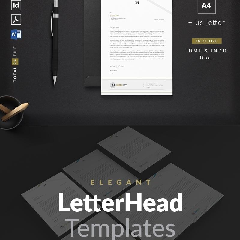 Letterhead - Corporate Identity Template