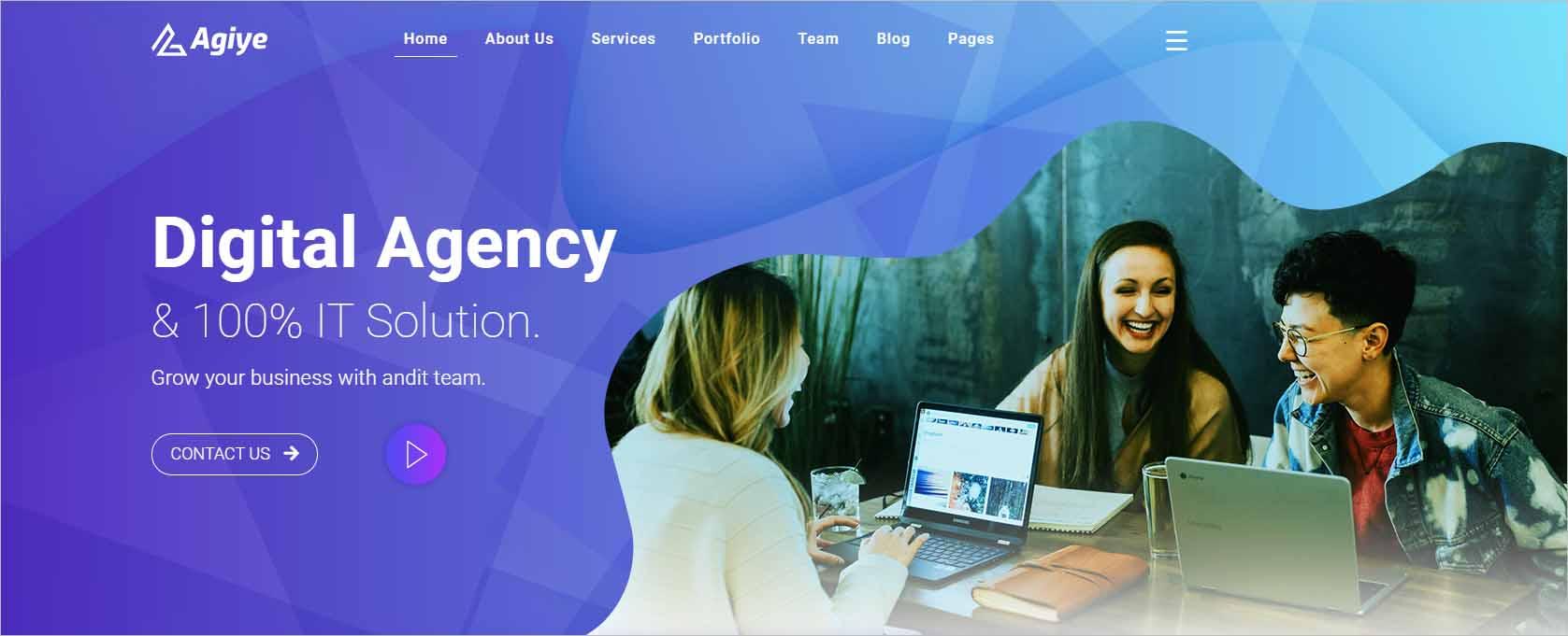 Agiye Creative Digital Agency Html