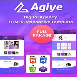 Agiye Creative Digital Agency Html