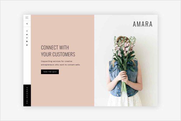 Amara Entrepreneurs Theme