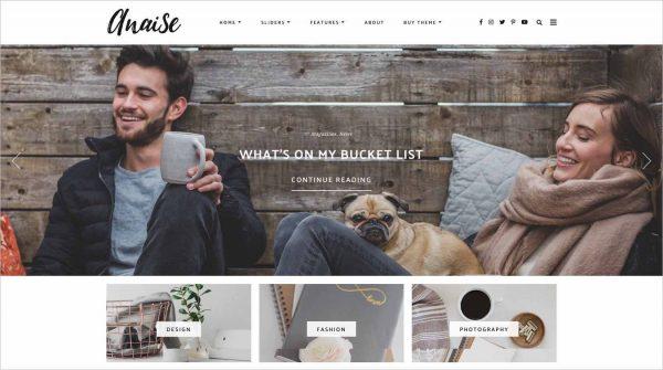 Anaise WordPress Theme