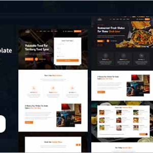 Asahi Restaurant HTML Template