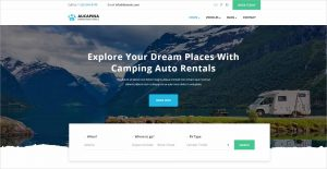 Aucapina Camping Auto HTML Template