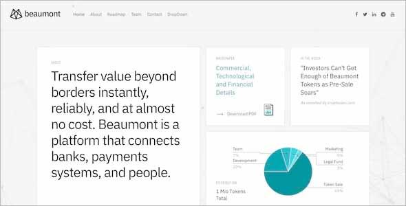 Beaumont Modern Business Drupal Theme