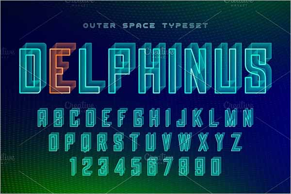 Best Futuristic Decorative Font