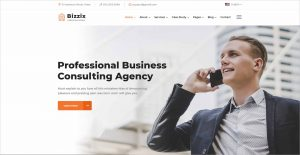 Bizzix Multipurpose Business HTML5 Template 0