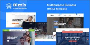 Bizzix Multipurpose Business HTML5 Template