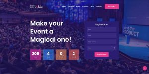 Bokta Event Conference HTML5 Template