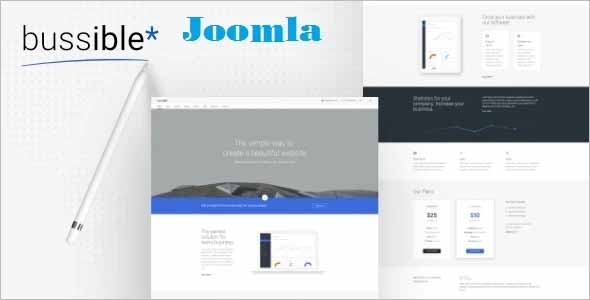 Bussible Startup Joomla Template