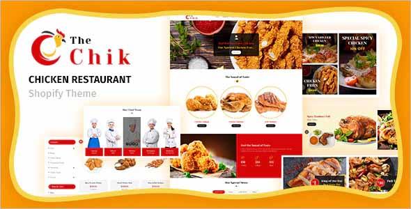 Chik Chicken Restaurant Shopify Theme