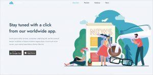 Codrop AppLanding OnePage Joomla Template