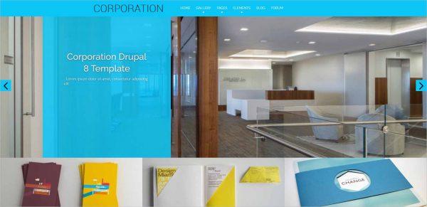 Corporation Drupal Business Theme