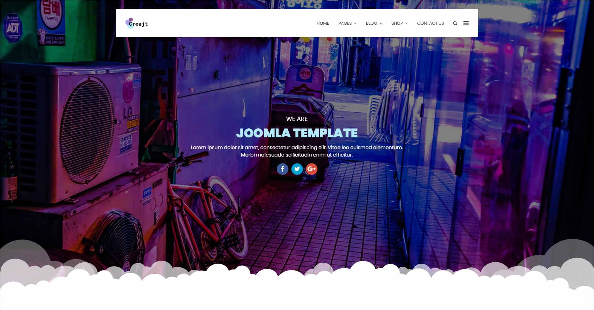 Creajt Business Agency Joomla Template