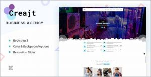 Creajt Business Agency Joomla Template