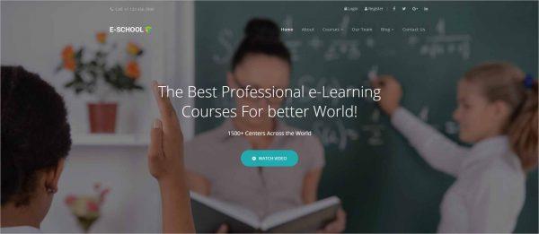 E School Professional Learning Joomla Template