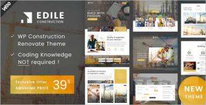 Edile Construction WP Theme