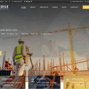 Edile Construction WP Theme
