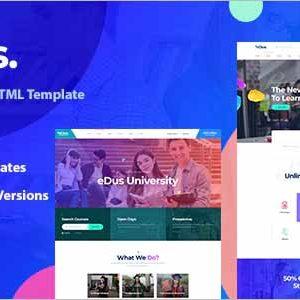 Edus Online Education HTML Template