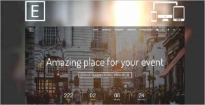 Eve Event Landing Page HTML Template