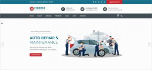 Fixomiz Car Repair HTML Template