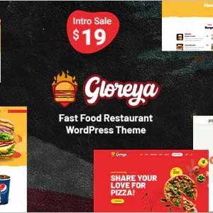 Gloreya Fast Food WordPress Theme