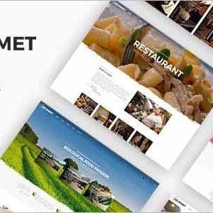 Gourmet Restaurant Joomla Template