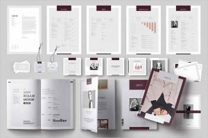 Grete Bundle Brochure Templates