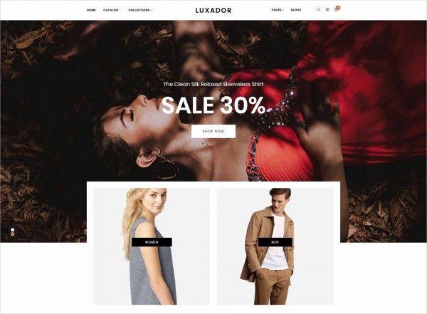 Gts Luxador Responsive Shopify Theme