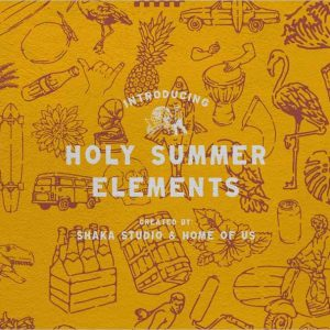 Holy Summer Vector Elements