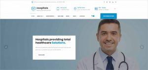 Hospitals Responsive Joomla Medical Template