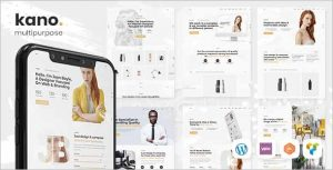 Kano Creative Multipurpose WordPress Theme 0