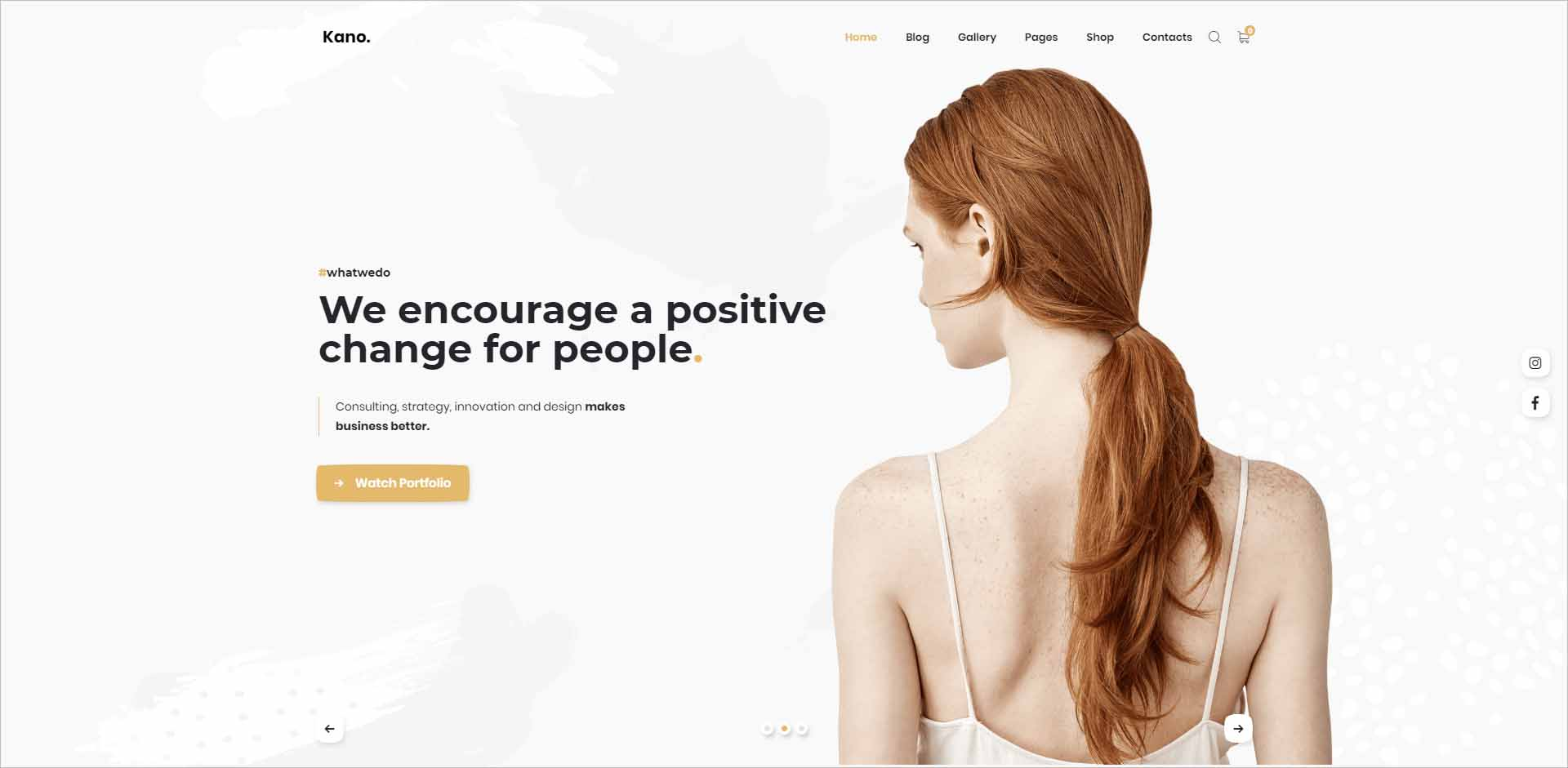 Kano Creative Multipurpose WordPress Theme