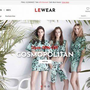 Lewear Multipurpose WooCommerce Theme