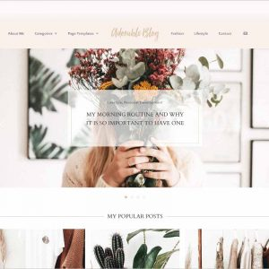 Lifestyle Blog Theme