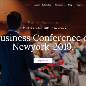 Lifevent Conference WordPress Theme