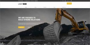 Lightwire Construction Drupal Theme 0