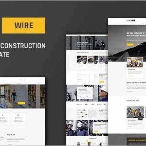 Lightwire Construction Drupal Theme
