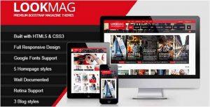 LookMag HTML5 Magazine Template