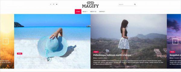 Magify A Magazine Theme