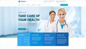 MedService Medical WordPress Theme