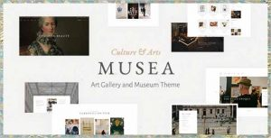Musea Art Gallery and Museum Theme