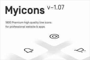 Myicons Premium Vector line Icons